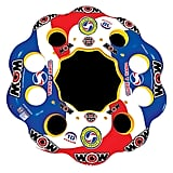 Wow World of Watersports 10 Person Inflatable Floating Island