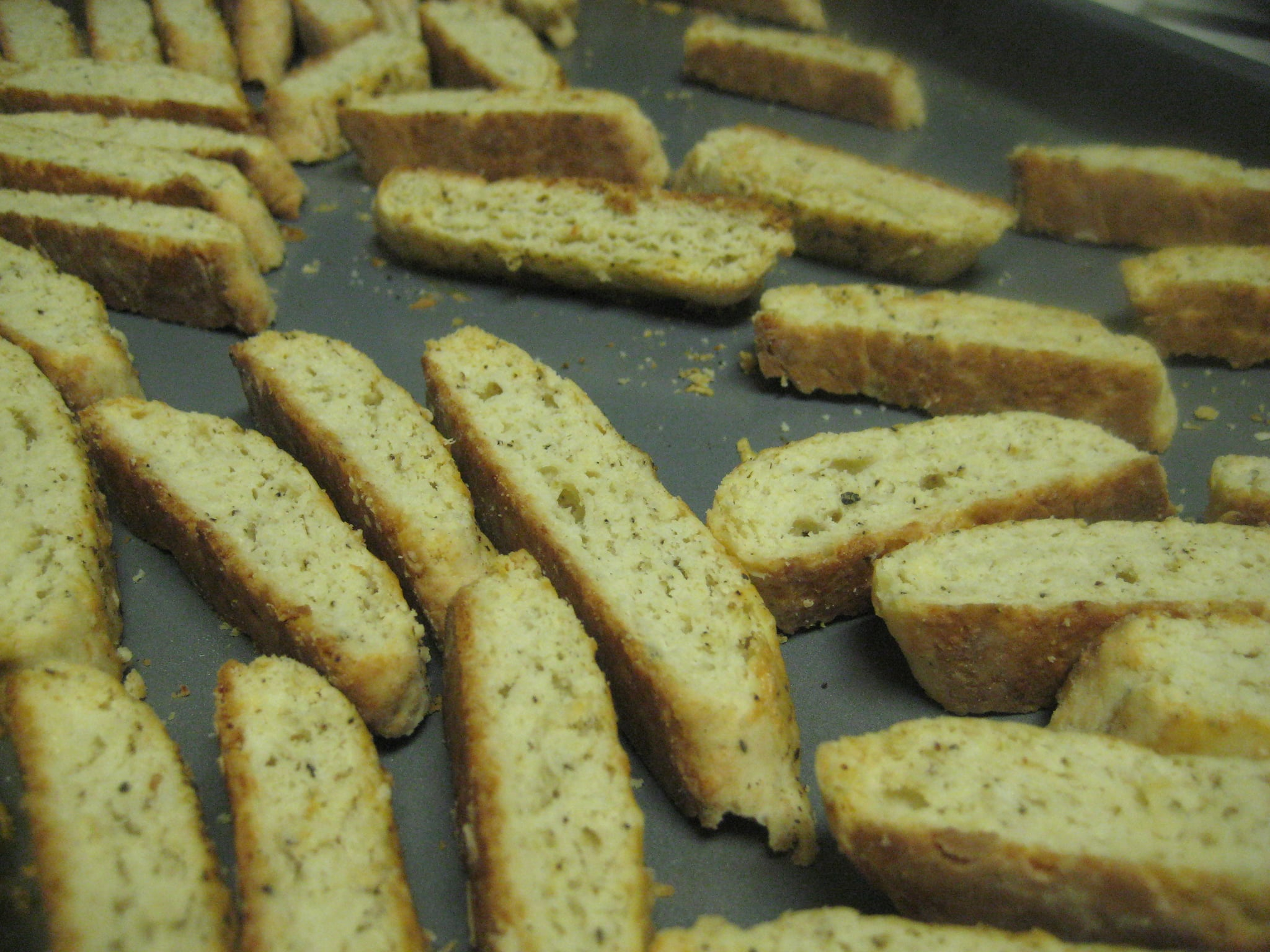12 Days of Edible Gifts: Parmesan Black Pepper Biscotti ...