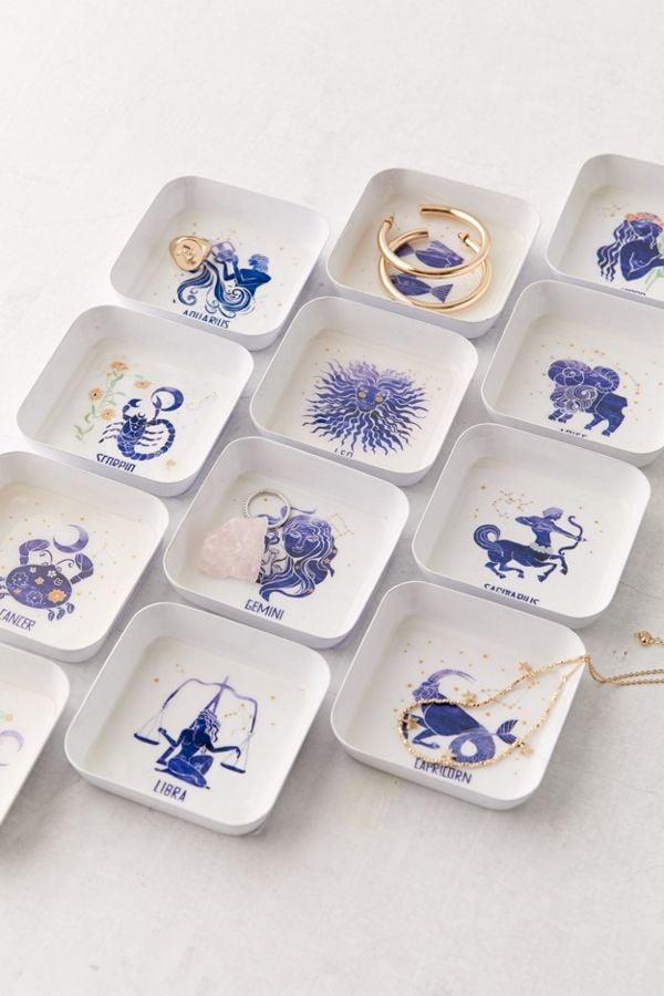 Zodiac Square Catch-All Dish