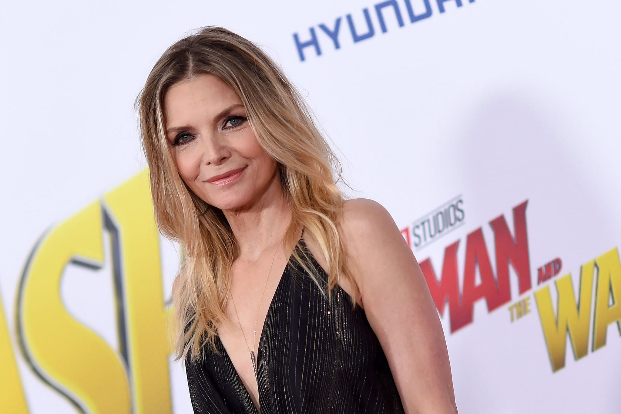 US actress Michelle Pfeiffer attends the World Premiere of Marvel Studios'