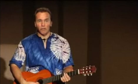 Arnold Schwarzenegger Sings the Best of Public Domain!