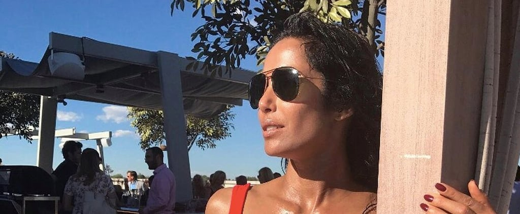 Padma Lakshmi's Sexy Red Bikini Throwback Will Make You Crave Sunny Weather