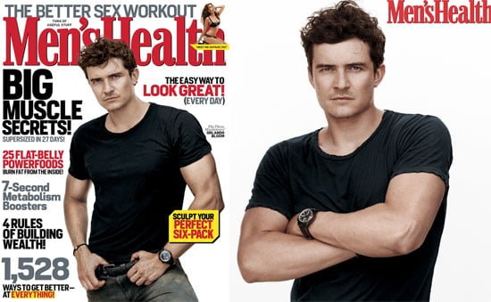 Orlando Bloom on the October Cover of Men's Health Pictures