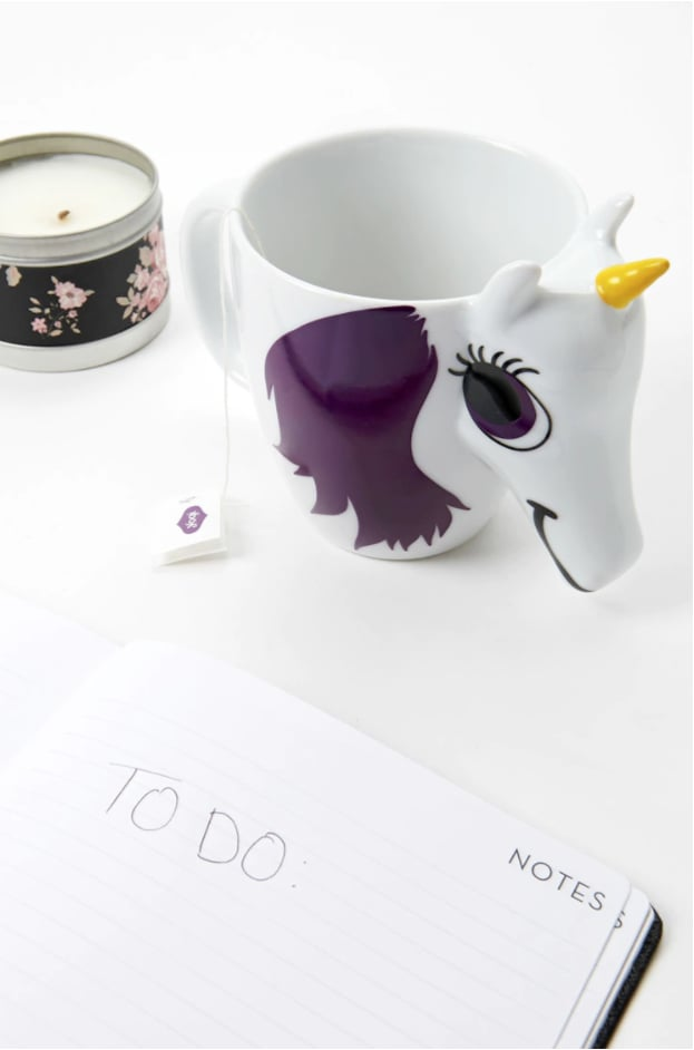 Thumbs-Up Changing Unicorn Mug