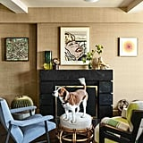 """Andy's adorable dog has become a fan favorite. """"I have more paintings of Wacha than you would believe. When you're a talk show host with a dog . . . people send you things,"""" he reveals."""