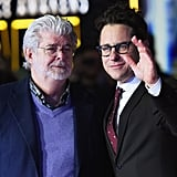 Pictured: George Lucas and J.J. Abrams