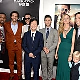 The Hangover Crew Goofs Around at LA Premiere