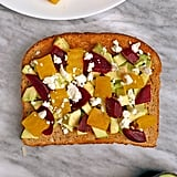 Avocado Toast With Beets and Feta