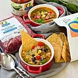 Beef Taco Quinoa Soup