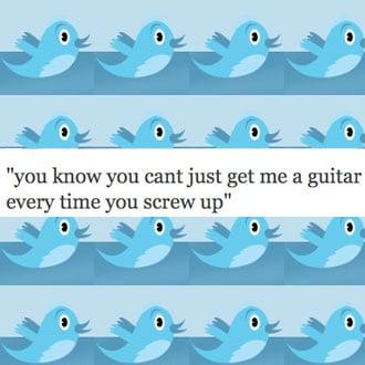 What Celebrities are Tweeting