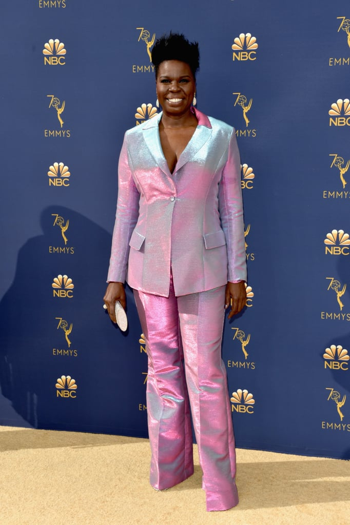 Leslie Jones's Suit at the 2018 Emmys