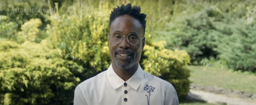 Billy Porter's Global Goal: Unite For Our Future Speech