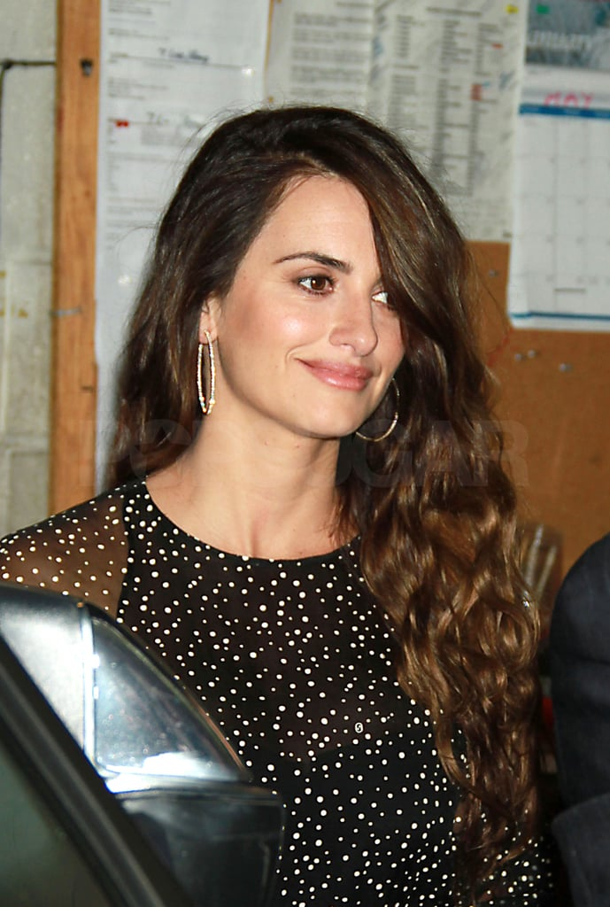 Penelope Cruz Gets Ready to Set Sail With Johnny Depp