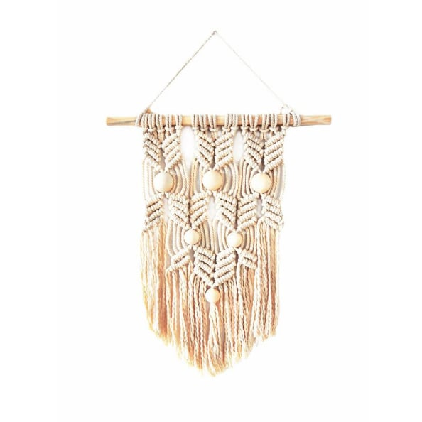 Natural Macrame by Marmont Hills Wall Tapestry