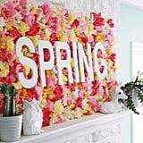 Floral Sign