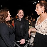 Melissa McCarthy, Ben Falcone, and Maya Rudolph