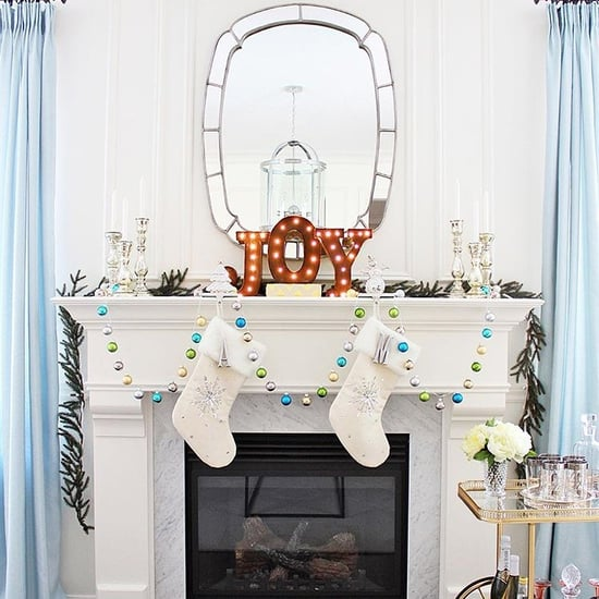 Pictures of Holiday Mantels