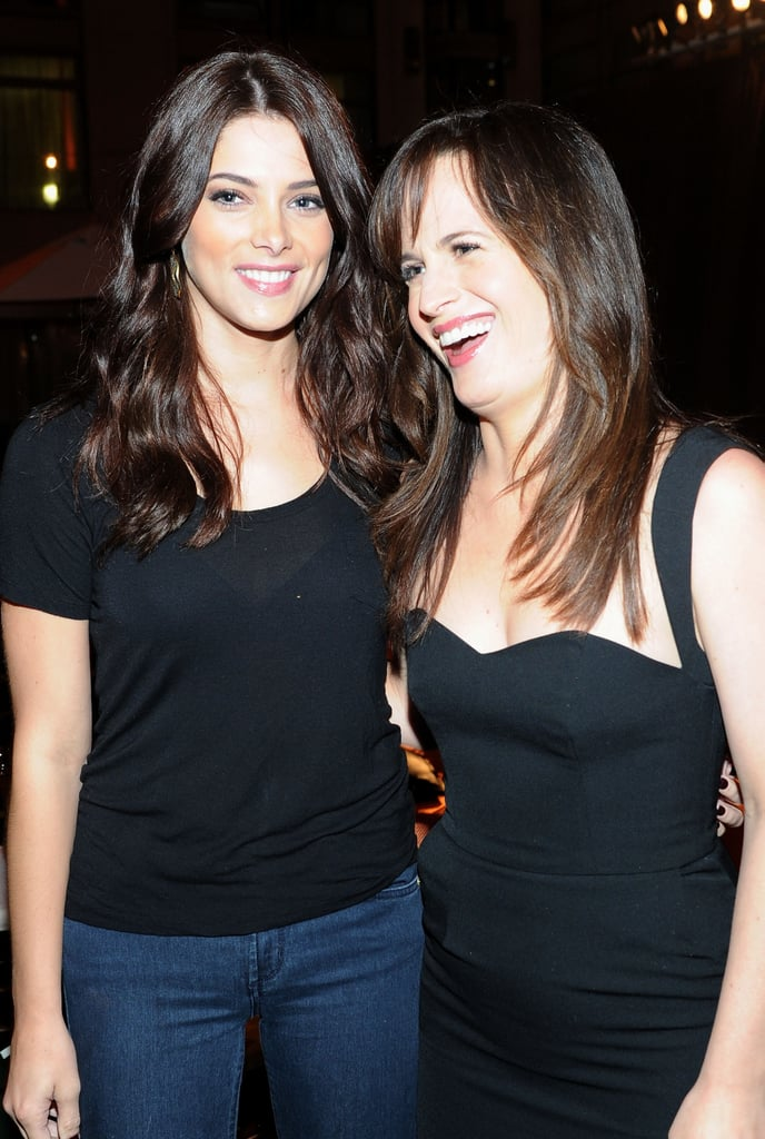 Ashley Greene and Elizabeth Reaser both wore black back in 2011.