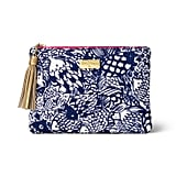 Lilly Pulitzer Navy Upstream Clutch