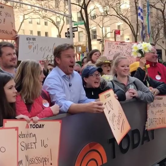 Chip Gaines Supporting Joanna on the Today Show