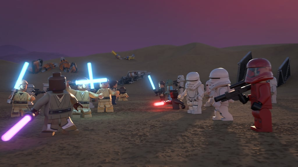 First Photos From the Lego Star Wars Holiday Special