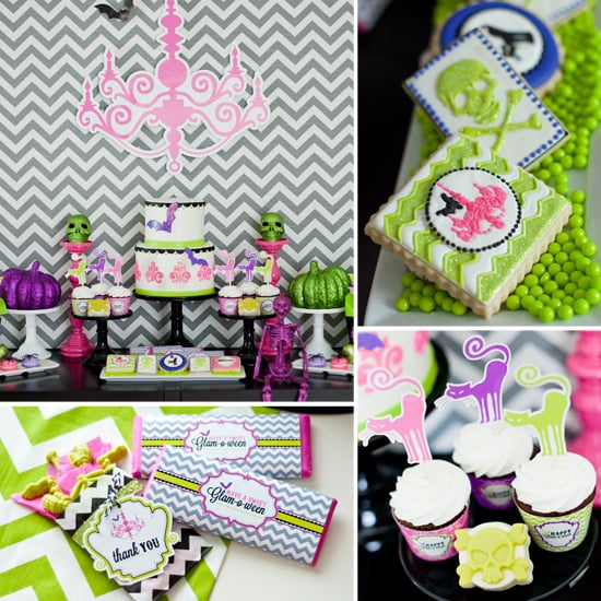 Halloween Party With Glitter and Girlie Details
