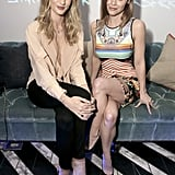 Rosie Huntington-Whiteley and Christina Ricci hung out together.