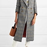 Checked Tweed Coat ($984.96)