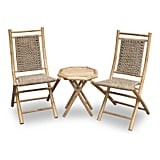 Heather Ann Creations Maui Bamboo Patio Set
