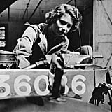 Training as a mechanic in the Auxiliary Territorial Service in 1945.