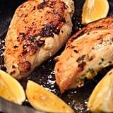 Brick Chicken With Charred Lemons