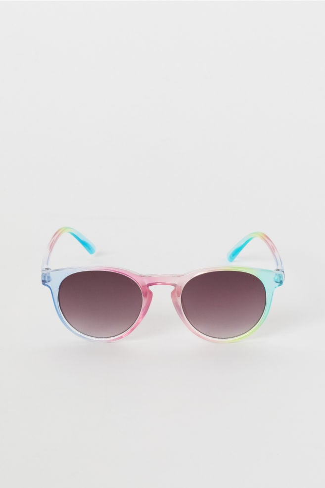 Pink Multicolored Sunglasses