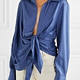 Jacquemus Knotted Twill Shirt