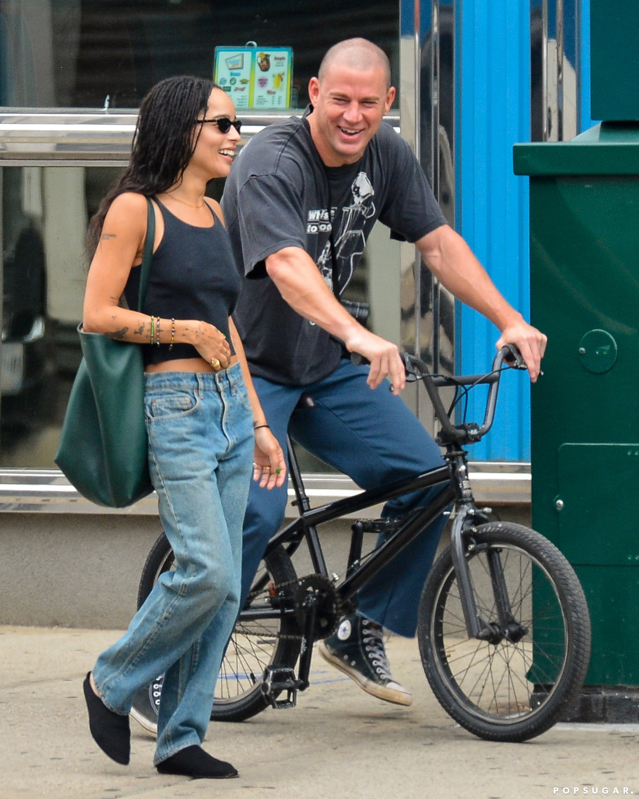 Zoe Kravitz and Channing Tatum Spending Time in NYC as the Former Finalizes her Divorce