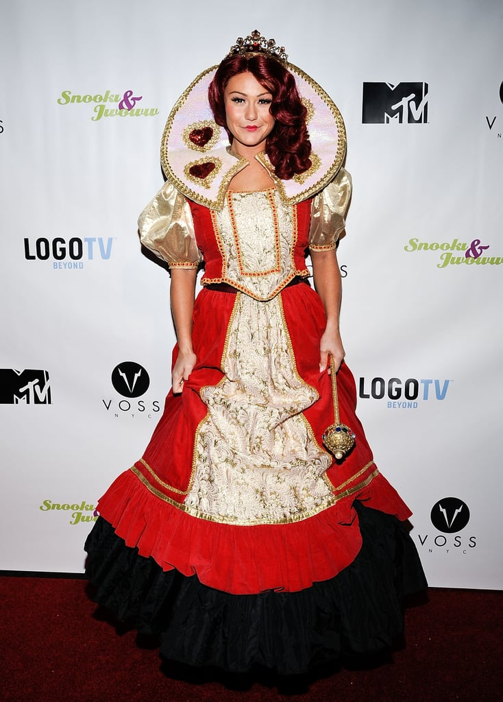 JWoww as the Queen of Hearts  sc 1 st  Popsugar & JWoww as the Queen of Hearts | Celebrities in Disney Halloween ...