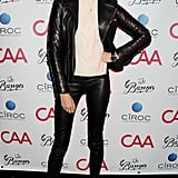 Karolina Kurkova posed at CAA's Cannes party.