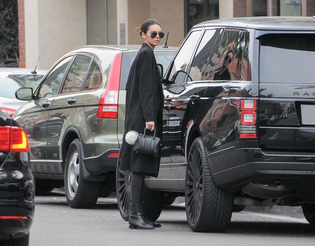 Kendall Jenner's Fendi Bag Charms