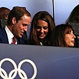 In July, Kate Middleton and Prince William checked out the Olympics opening ceremony together in London.