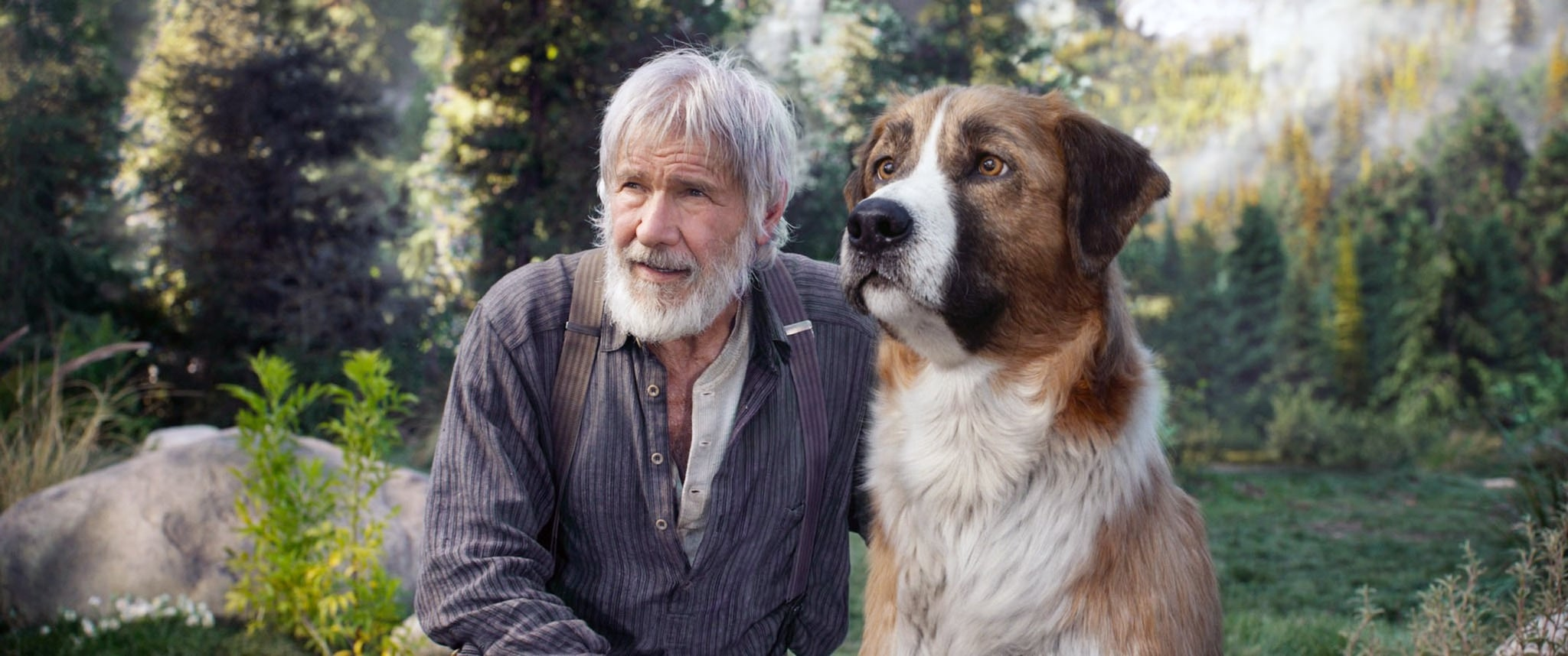 THE CALL OF THE WILD, Harrison Ford, 2020.  20th Century Studios / courtesy Everett Collection