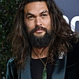 Photos of Jason Momoa at the 2020 Golden Globes