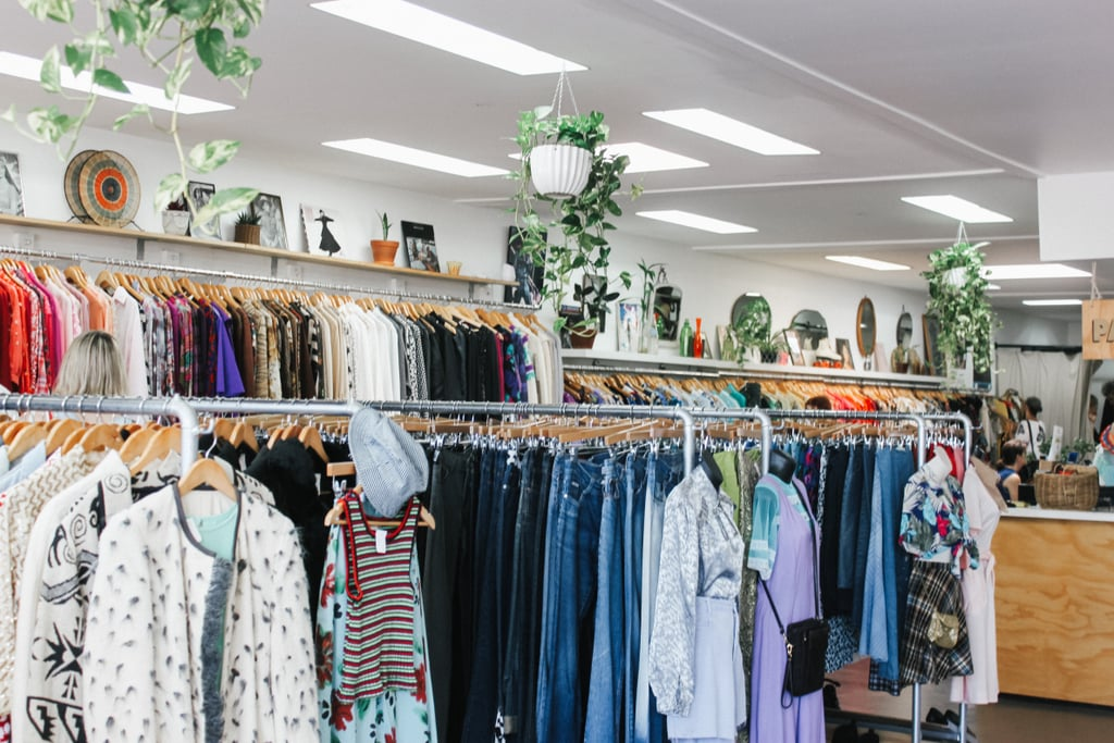 Sell old clothing to a consignment shop.