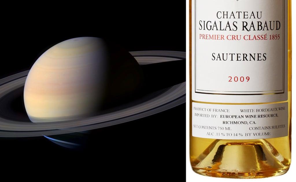 Saturn and Sauternes