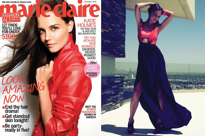 Katie Holmes Marie Claire 2011 Pictures