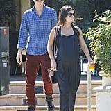 Rachel Bilson and Hayden Christensen stepped out in LA on Wednesday.