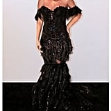 Beyonce's Black Nedo Dress at a Tidal Dinner September 2019
