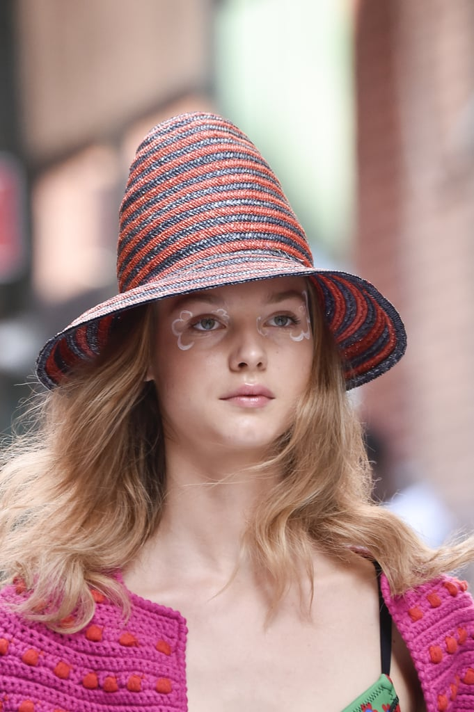 A Hat on the Cynthia Rowley Runway at New York Fashion Week
