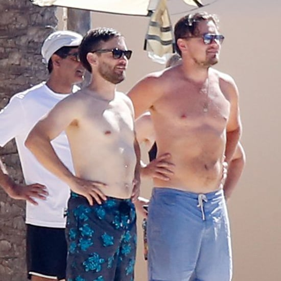 Leonardo DiCaprio and Tobey Maguire Shirtless in Ibiza 2016