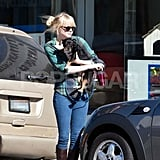 Emma Stone Has a Spot-On Day With Her Pooch
