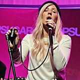 Ellie Goulding Performs Live at PopSugar Studios | Pictures