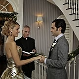 Lonely Boy and S don't get married right away; they wait a few years to get hitched.